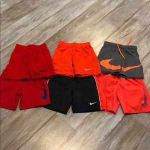 Bundle of boys 4T Nike basketball shorts